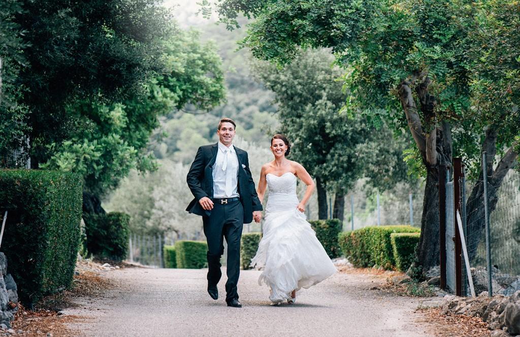 Hochzeitspaar auf Mallorca