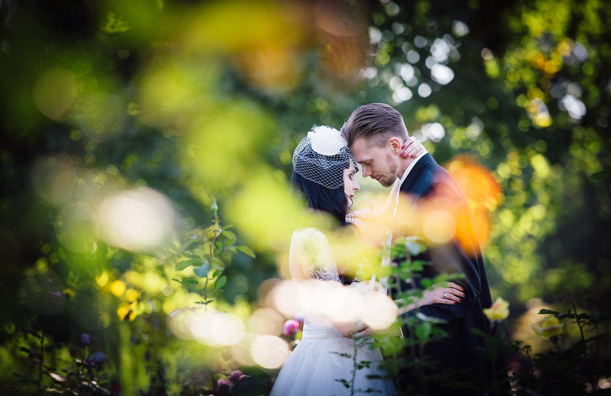 Hochzeitsfoto in Nells Park Trier