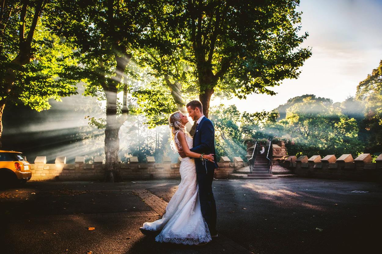 Hochzeit in Trier mit Fotograf in den Abendstunden