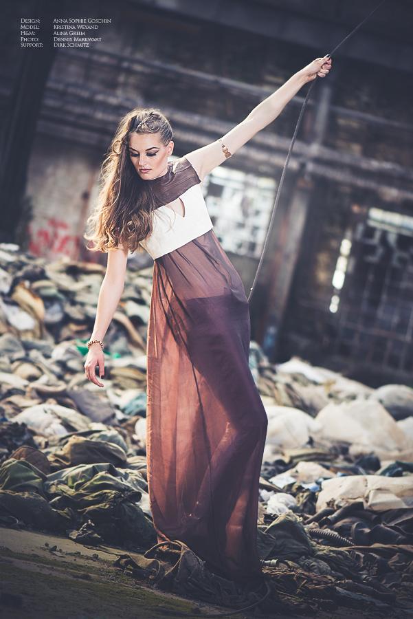 Urban Fashion Shooting in Kooperation mit der FH Trier (Modedesign)