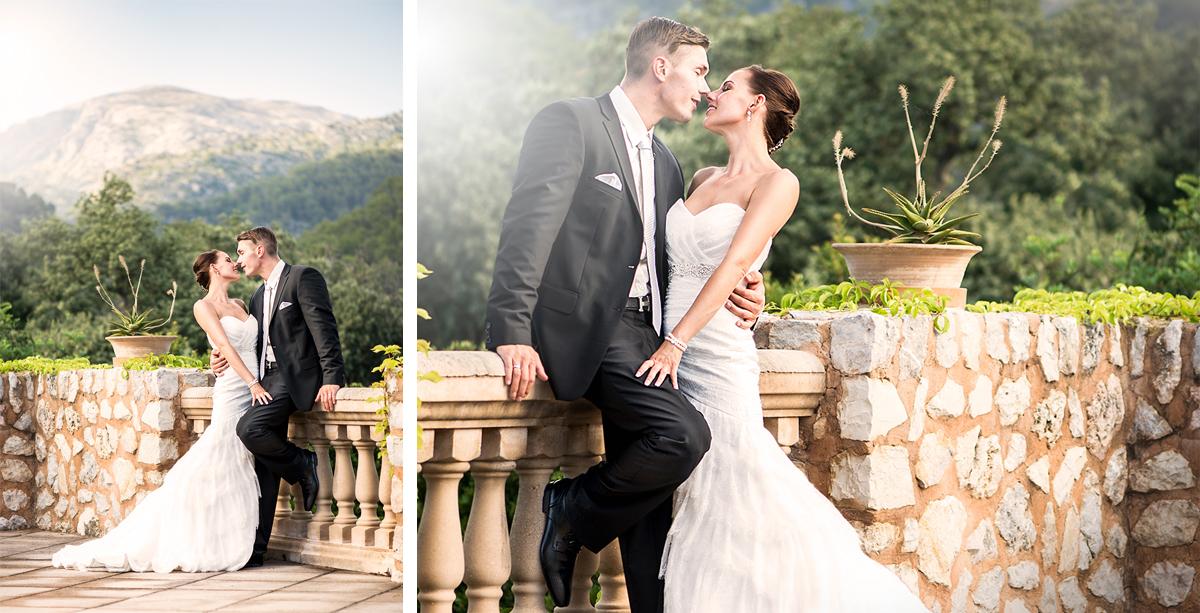 Hochzeit von Linda und Björn auf Mallorca