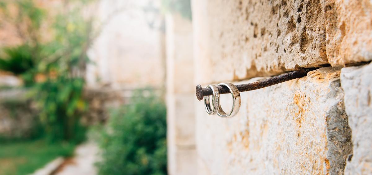 Hochzeitsringe auf Mallorca