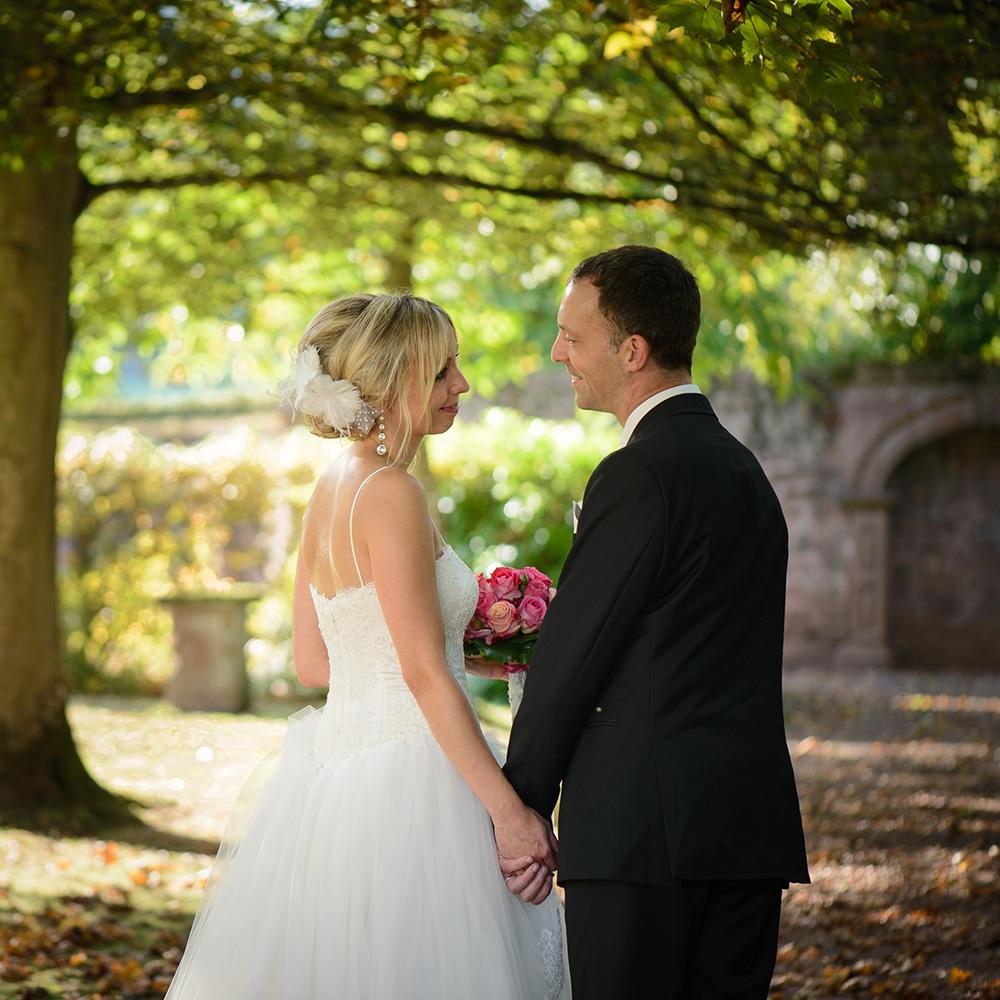 Schloss Föhren: Hochzeitsfotos