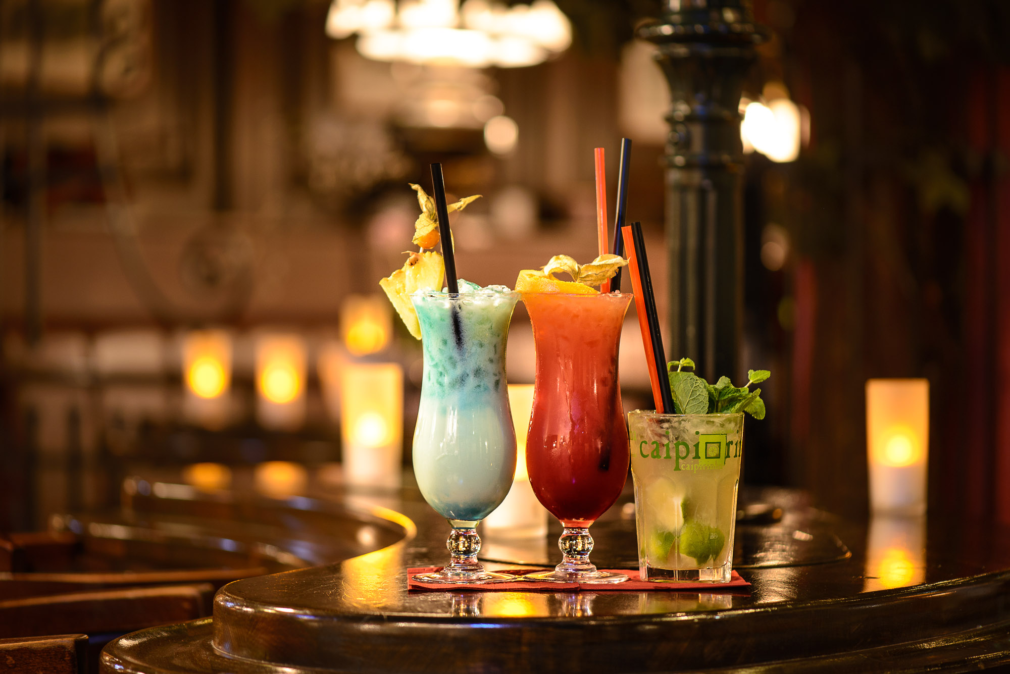 Werbefotografie in Trier: Cocktails in Stratos Schlabbergass Cafè-Bistro