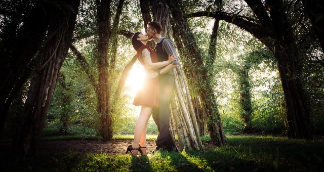 Engagement Shooting mit Manuela und Eddie
