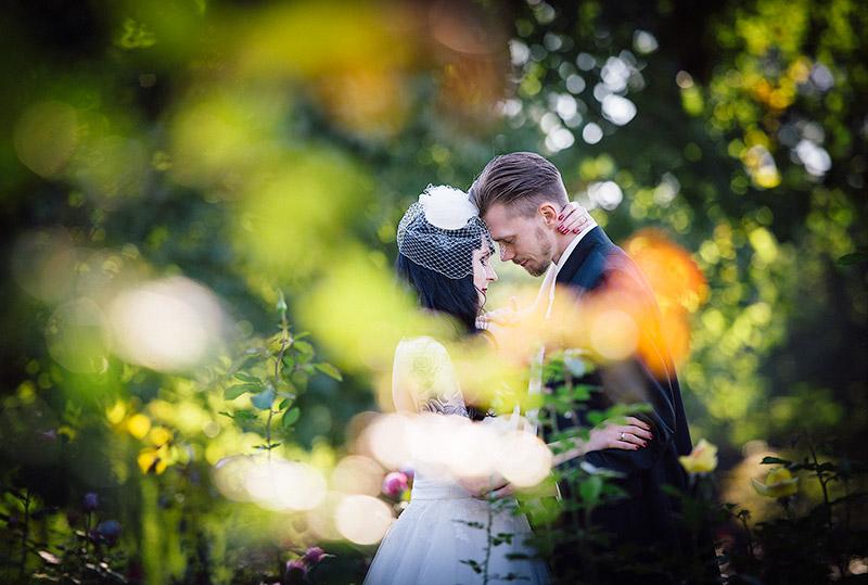 Hochzeitsfoto in Nells Park