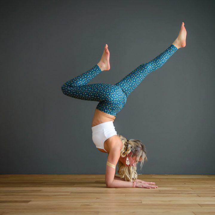 Yoga Fotoshooting mit Verena