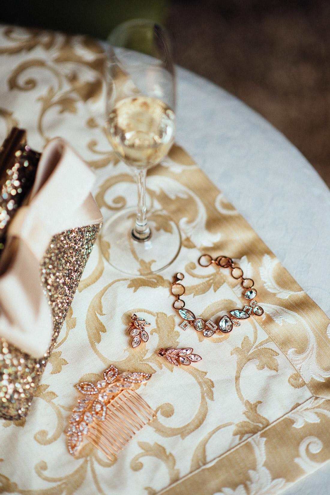 Accessories der Braut - Getting Ready (Hochzeitsreportage)